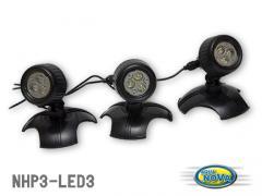 Подсветка для пруда 12V 36 diod 3 x 3,6W NPL3-LED3