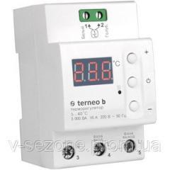 Терморегулятор для теплого пола 16А terneo b