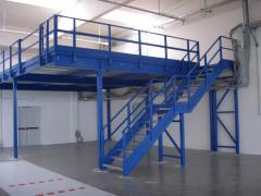 Мезонин ( дополнительная платформа/этаж )