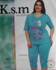 Пижама женская (большие размеры)