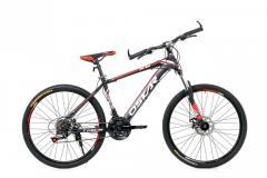 "Велосипед OSKAR 26""-1618 ST black- red"