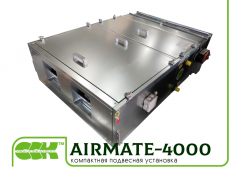 Compact suspended Airmate installation.