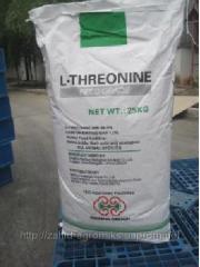 Треонин (Треонин, L-Threonine) аминокислота, фасовка 25 кг