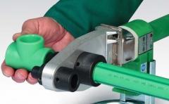 Водопроводы из пластиковых труб (диаметр от 20 до 600 мм), любой сложности