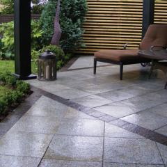 Paving plates granite
