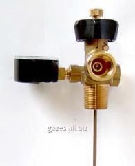 The valve of a gas phase for reservoirs SUG with