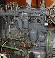 The SMD-11A engine, conversion, from storage,