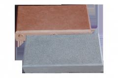 Вибролитая тротуарная плитка Брусок, брусчатка-шагрень