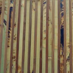 Бамбукові шпалери Черепаха полосата 2+1 без лаку, 17мм