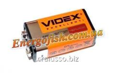 Батарейка Videx 6F22 крона 9.0V