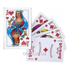 Playing cards the Lady of 36 pieces with a plastic