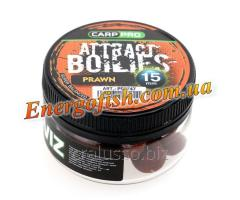 Бойли Attract Boilies Prawn 15mm