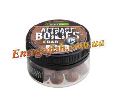 Бойли Attract Boilies Crab 15mm