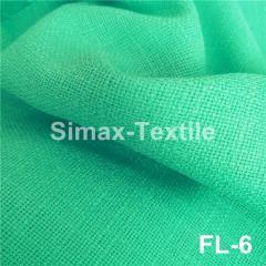 Ткань лён (мешковина льняная), Код: FL-6 Мята