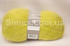 Ангоровая  пряжа, Код: Желтый-грушевый