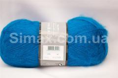 Ангоровая  пряжа Насыщено голубой, Код: Насыщено голубой