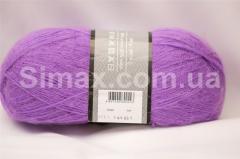 Ангоровая  пряжа Нежно фиолетовый, Код: Нежно фиолетовый