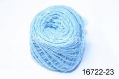 Акриловая пряжа Голубо- Синий, Код: 16722-23