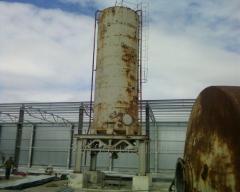 Бункер (силос) цементный 80 м.куб.(105 тн).