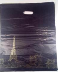 Пакеты с прорезной ручкой Китай подарочные №14 45x55 (уп.100шт.)