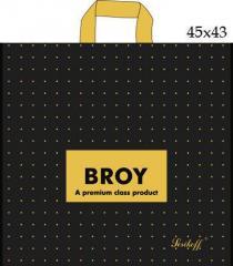 Пакет с петлевой ручкой (45x43+3/100 мк)Брой Джерела(25шт/уп.)