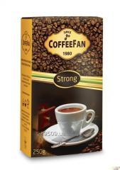 Кофе CoffeeFan Strong молотый 250г