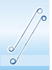 Стент стандарт с гидрофильным покрытием с открытым (SOT - Н) или закрытым концом (SS- Н)