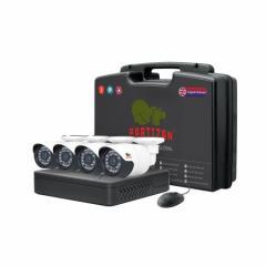 Система видеонаблюдения Outdoor Kit 1MP 4xAHD