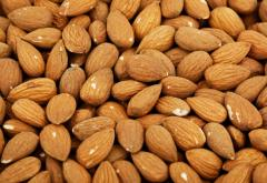 Almonds. Nuts.