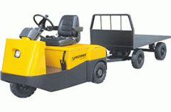 Electric towing QDD tractor