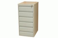 Шкаф файловый-картотечный ШФ 6В