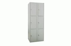 Шкаф ячеечный на 6 ячеек - 3 в высоту