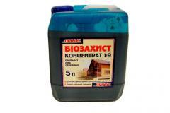 A tüzvédő ( tűzálló , égésgátló ) Bioprotective impregnáló tűzvédelmére bio impregnáló anyagok ( eszközök )