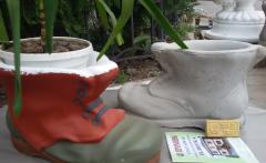 Ботинок малый окрашенный