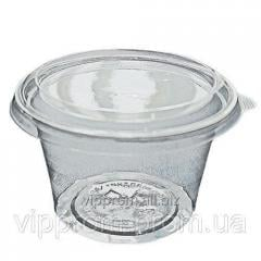 Box round with a cover, 400 ml