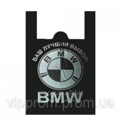 BMW SUPER BAG package black 36х55 (50sht./unitary enterprise., 500 pieces/mesh.)