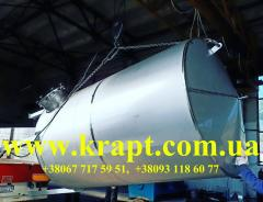 Capacity from AISI 304 stainless steel volume is