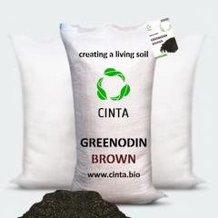 Organic-mineral mix GREENODIN BROWN (grinodin