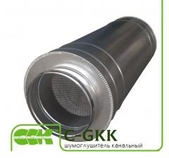 Трубчатый шумоглушитель канальный C-GKK-125-900