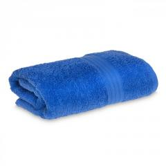 Махровое полотенце 68х125см Grange Bath 525г\м2 Med Blue