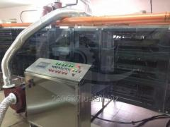 Infrared drying lines and cases for drying of