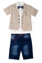 Костюм рубашка с пиджаком и шорты для мальчика