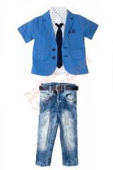 Костюм рубашка с пиджаком и брюки для мальчика