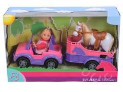 Кукла Evi с автомобилем