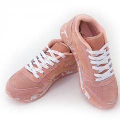 Кроссовки для девочки на шнурках