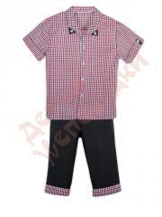 Костюм рубашка и шорты для мальчика