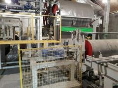 Paper plant on production of toilet paper.