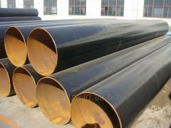 Pipes steel with an external two-layer and...