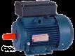 Электродвигатель однофазный 1,5 кВт/1500 об со встроенным блоком конденсаторов