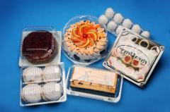 Упаковка разных видов для продуктов питания